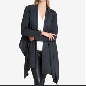 DKNY 💝Open Front High and Low Cozy Cardigan NWT